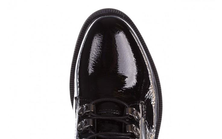 Trzewiki bayla-161 068-9015 black patent, czarny, skóra naturalna lakierowana  - trzewiki - buty damskie - kobieta 6