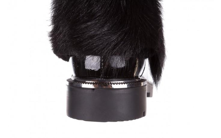 Trzewiki bayla-161 068-9015 black patent, czarny, skóra naturalna lakierowana  - trzewiki - buty damskie - kobieta 8