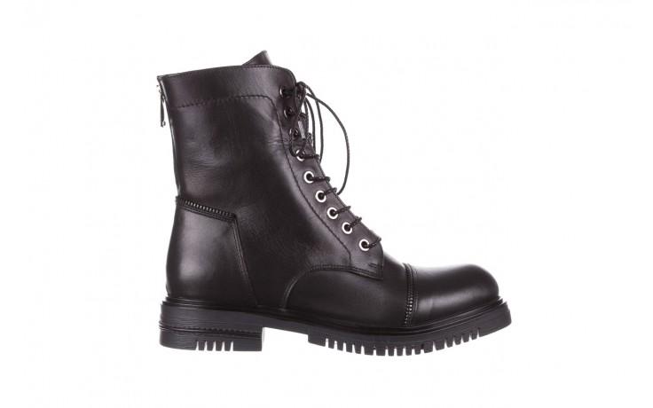 Trzewiki bayla-161 050-3055 black, czarny, skóra naturalna  - trzewiki - buty damskie - kobieta