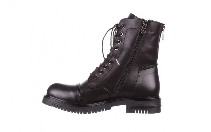 Trzewiki bayla-161 050-3055 black, czarny, skóra naturalna  - trzewiki - buty damskie - kobieta 3
