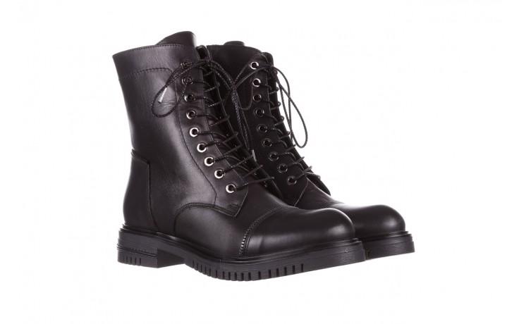 Trzewiki bayla-161 050-3055 black, czarny, skóra naturalna  - trzewiki - buty damskie - kobieta 1