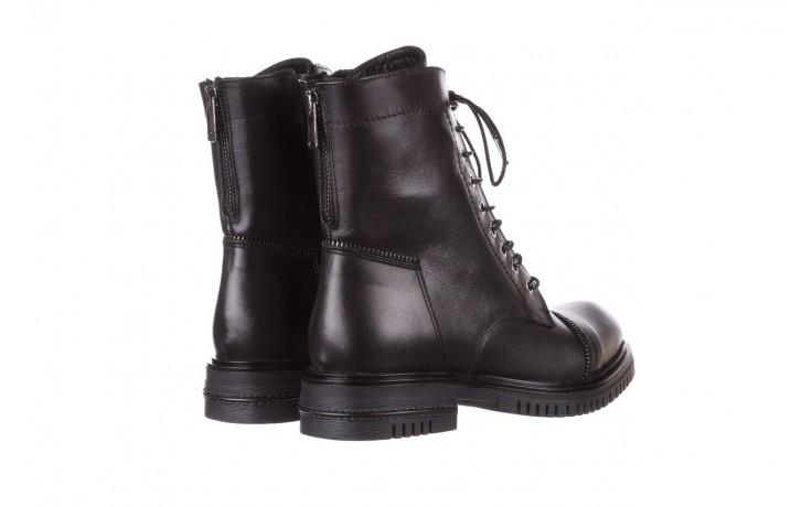 Trzewiki bayla-161 050-3055 black, czarny, skóra naturalna  - trzewiki - buty damskie - kobieta 4