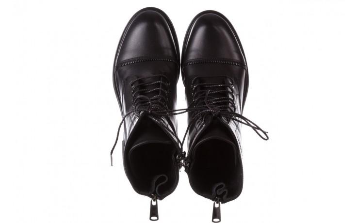 Trzewiki bayla-161 050-3055 black, czarny, skóra naturalna  - trzewiki - buty damskie - kobieta 5