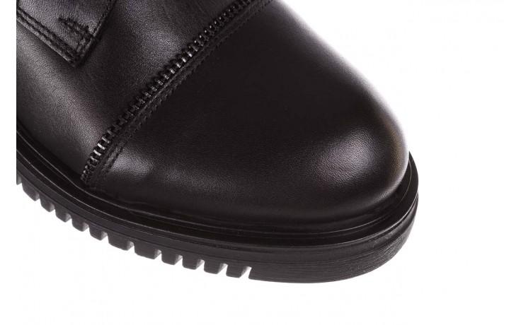 Trzewiki bayla-161 050-3055 black, czarny, skóra naturalna  - trzewiki - buty damskie - kobieta 6