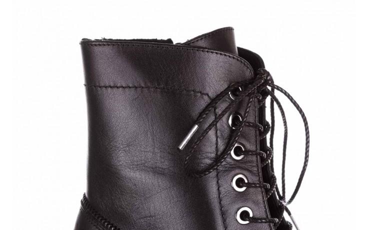Trzewiki bayla-161 050-3055 black, czarny, skóra naturalna  - trzewiki - buty damskie - kobieta 7