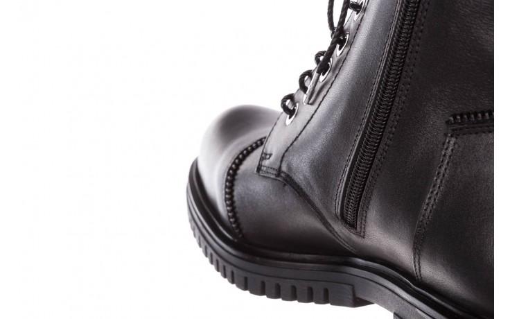 Trzewiki bayla-161 050-3055 black, czarny, skóra naturalna  - trzewiki - buty damskie - kobieta 8
