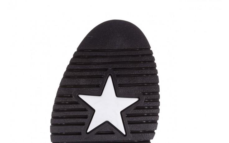 Trzewiki bayla-161 050-3055 black, czarny, skóra naturalna  - trzewiki - buty damskie - kobieta 10