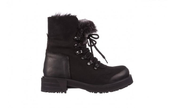 Trzewiki bayla-161 059-2117 black, czarny, skóra naturalna  - trzewiki - buty damskie - kobieta