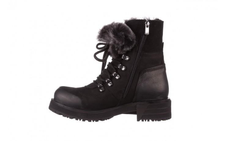 Trzewiki bayla-161 059-2117 black, czarny, skóra naturalna  - trzewiki - buty damskie - kobieta 3