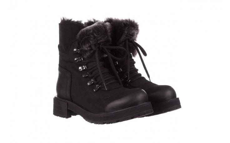 Trzewiki bayla-161 059-2117 black, czarny, skóra naturalna  - trzewiki - buty damskie - kobieta 1