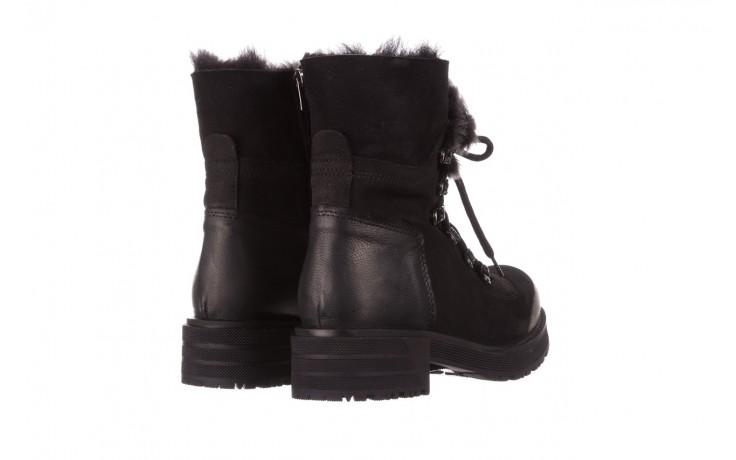 Trzewiki bayla-161 059-2117 black, czarny, skóra naturalna  - trzewiki - buty damskie - kobieta 4