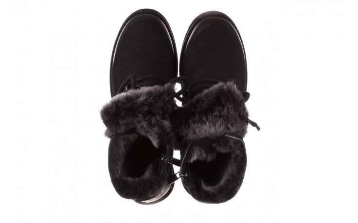 Trzewiki bayla-161 059-2117 black, czarny, skóra naturalna  - trzewiki - buty damskie - kobieta 5