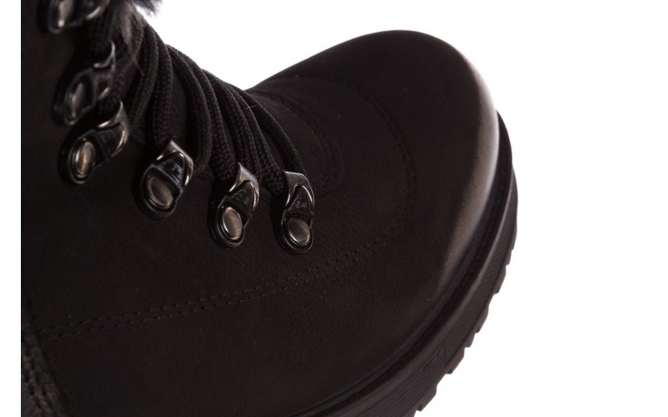 Trzewiki bayla-161 059-2117 black, czarny, skóra naturalna  - trzewiki - buty damskie - kobieta 7