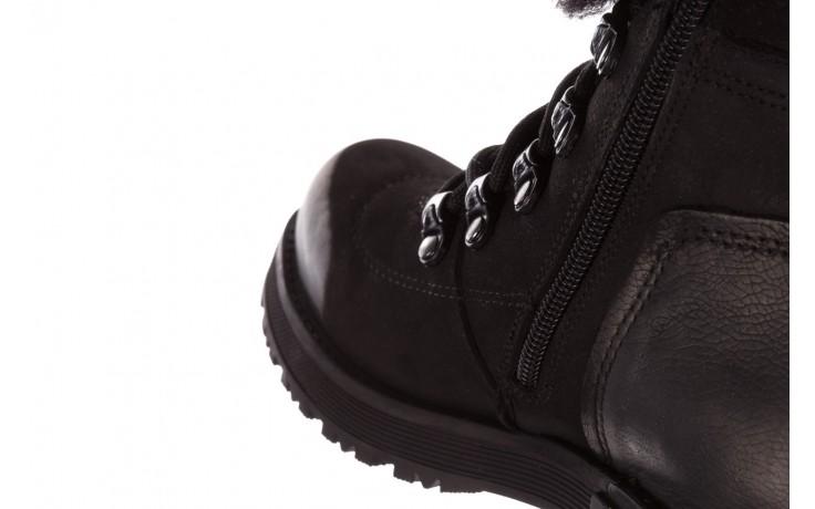 Trzewiki bayla-161 059-2117 black, czarny, skóra naturalna  - trzewiki - buty damskie - kobieta 8