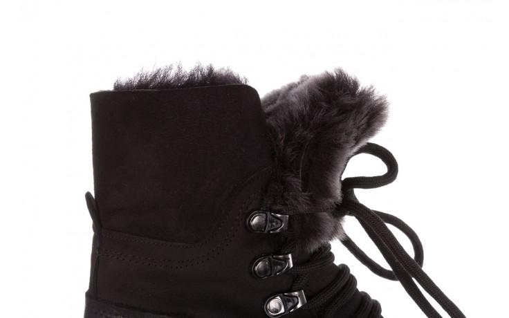 Trzewiki bayla-161 059-2117 black, czarny, skóra naturalna  - trzewiki - buty damskie - kobieta 9