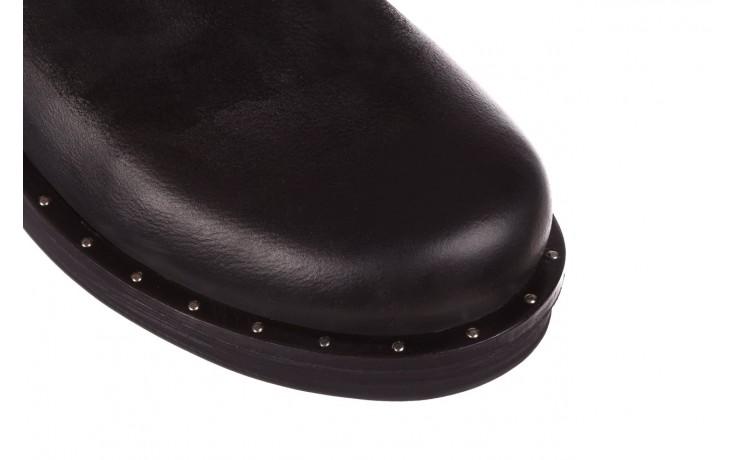 Trzewiki bayla-161 050-2341 black, czarny, skóra naturalna  - trzewiki - buty damskie - kobieta 6