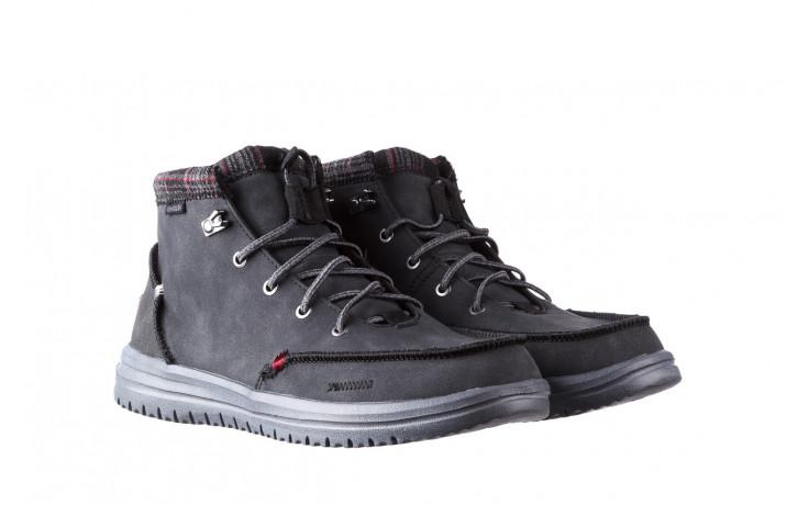 Trzewiki heydude bradley black 003191, czarny, skóra naturalna  - buty męskie - mężczyzna 1