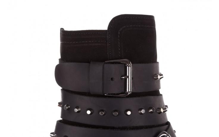 Trzewiki bayla-161 050-2341 black, czarny, skóra naturalna  - trzewiki - buty damskie - kobieta 7