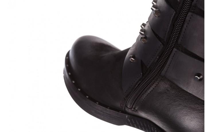 Trzewiki bayla-161 050-2341 black, czarny, skóra naturalna  - trzewiki - buty damskie - kobieta 9