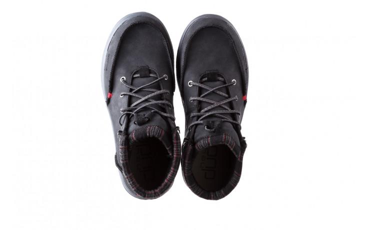 Trzewiki heydude bradley black 003191, czarny, skóra naturalna  - buty męskie - mężczyzna 4