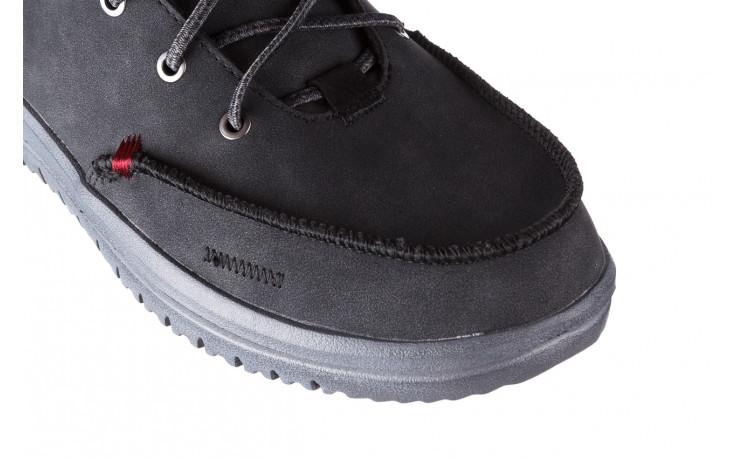 Trzewiki heydude bradley black 003191, czarny, skóra naturalna  - buty męskie - mężczyzna 5