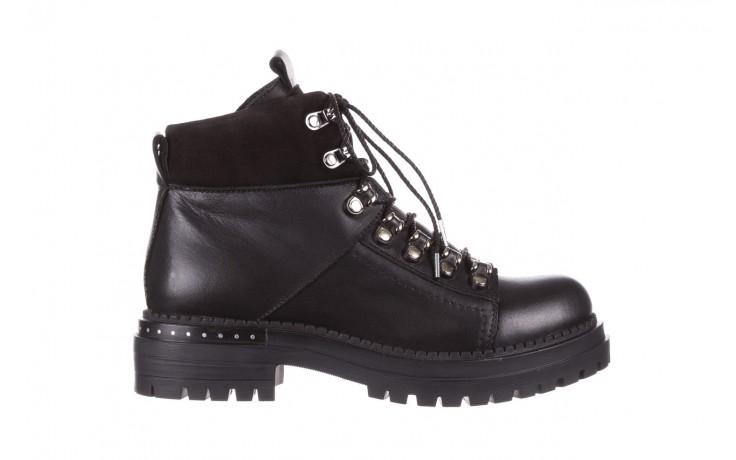 Trzewiki bayla-161 050-7256 black, czarny, skóra naturalna  - trzewiki - buty damskie - kobieta
