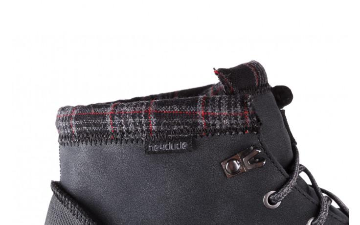 Trzewiki heydude bradley black 003191, czarny, skóra naturalna  - buty męskie - mężczyzna 8