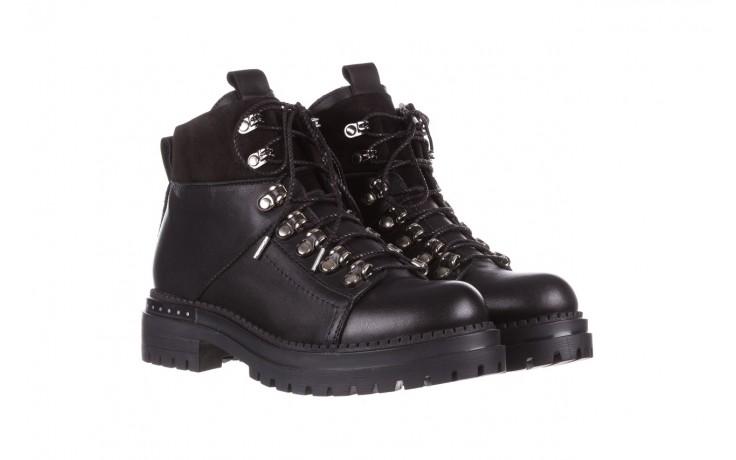 Trzewiki bayla-161 050-7256 black, czarny, skóra naturalna  - trzewiki - buty damskie - kobieta 1