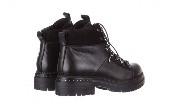 Trzewiki bayla-161 050-7256 black, czarny, skóra naturalna  - trzewiki - buty damskie - kobieta 4