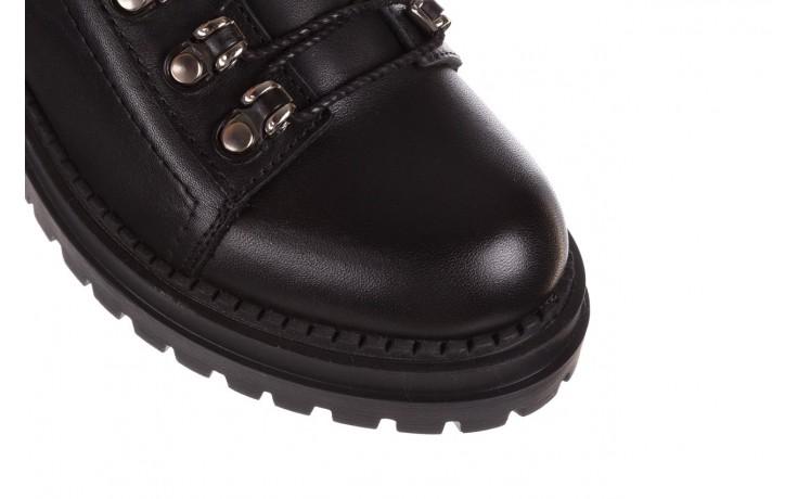 Trzewiki bayla-161 050-7256 black, czarny, skóra naturalna  - trzewiki - buty damskie - kobieta 6