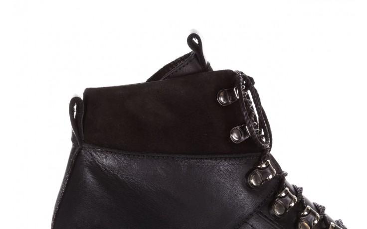 Trzewiki bayla-161 050-7256 black, czarny, skóra naturalna  - trzewiki - buty damskie - kobieta 7