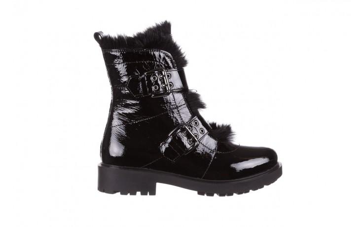Trzewiki bayla-161 050-7863 black, czarny, skóra naturalna lakierowana  - trzewiki - buty damskie - kobieta