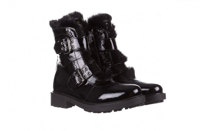 Trzewiki bayla-161 050-7863 black, czarny, skóra naturalna lakierowana  - trzewiki - buty damskie - kobieta 1