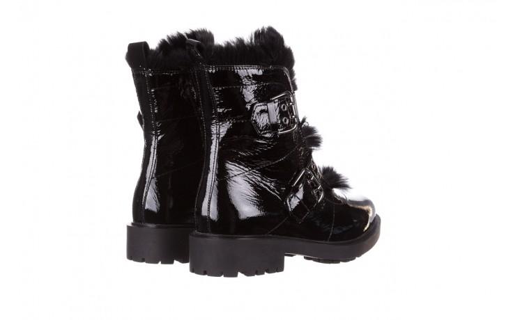 Trzewiki bayla-161 050-7863 black, czarny, skóra naturalna lakierowana  - trzewiki - buty damskie - kobieta 4