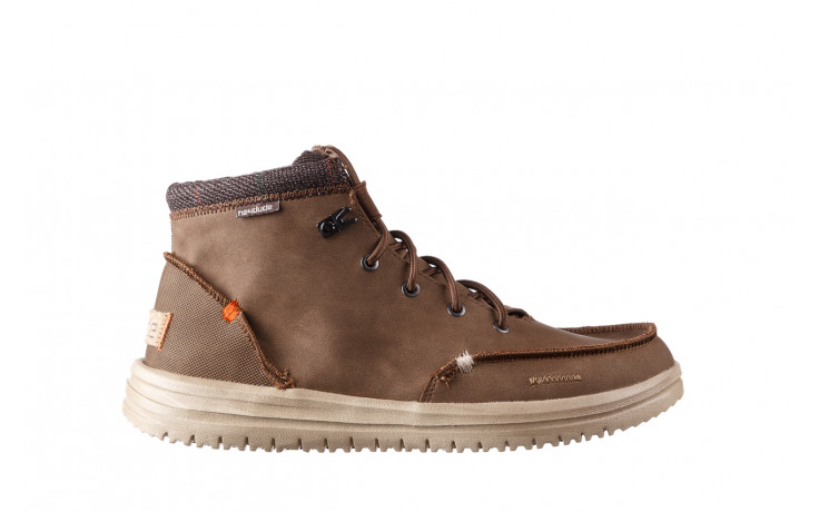 Trzewiki heydude bradley brown 003192, brąz, skóra naturalna  - trzewiki - buty męskie - mężczyzna