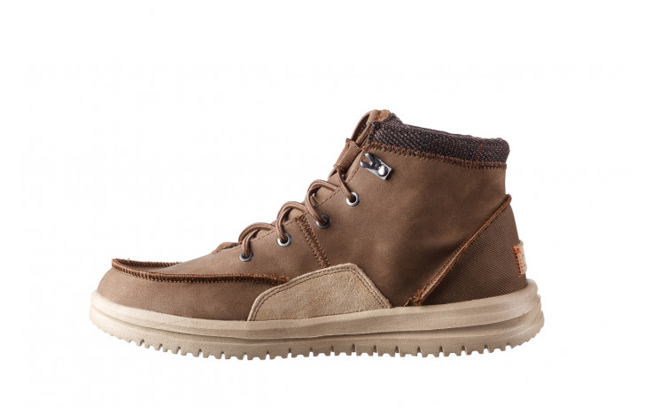 Trzewiki heydude bradley brown 003192, brąz, skóra naturalna  - trzewiki - buty męskie - mężczyzna 2