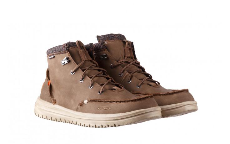 Trzewiki heydude bradley brown 003192, brąz, skóra naturalna  - trzewiki - buty męskie - mężczyzna 1