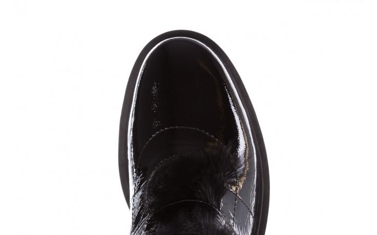 Trzewiki bayla-161 050-7863 black, czarny, skóra naturalna lakierowana  - trzewiki - buty damskie - kobieta 7