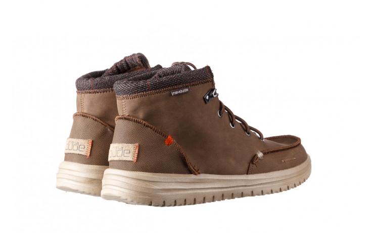 Trzewiki heydude bradley brown 003192, brąz, skóra naturalna  - trzewiki - buty męskie - mężczyzna 3