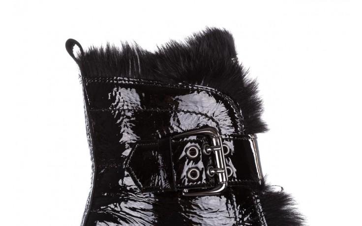 Trzewiki bayla-161 050-7863 black, czarny, skóra naturalna lakierowana  - trzewiki - buty damskie - kobieta 8