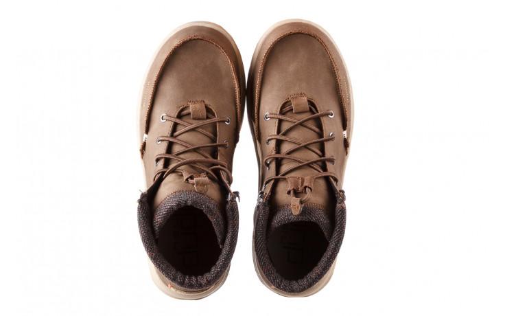 Trzewiki heydude bradley brown 003192, brąz, skóra naturalna  - trzewiki - buty męskie - mężczyzna 4