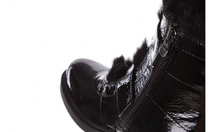 Trzewiki bayla-161 050-7863 black, czarny, skóra naturalna lakierowana  - trzewiki - buty damskie - kobieta 9