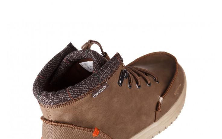 Trzewiki heydude bradley brown 003192, brąz, skóra naturalna  - trzewiki - buty męskie - mężczyzna 5