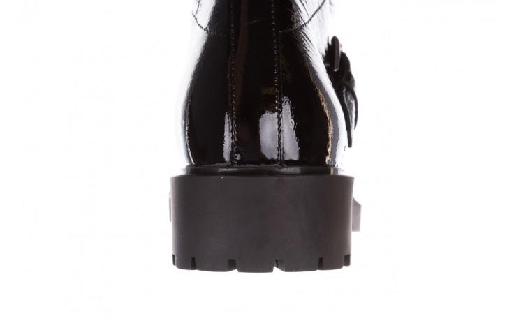 Trzewiki bayla-161 050-7863 black, czarny, skóra naturalna lakierowana  - trzewiki - buty damskie - kobieta 10