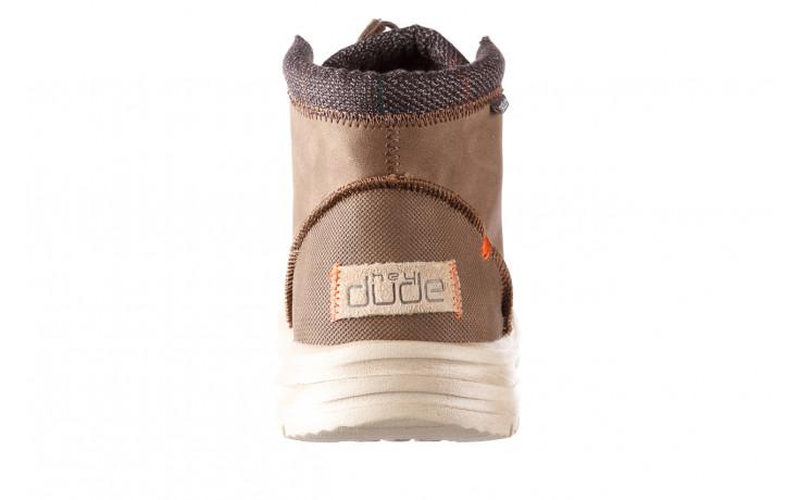 Trzewiki heydude bradley brown 003192, brąz, skóra naturalna  - trzewiki - buty męskie - mężczyzna 6