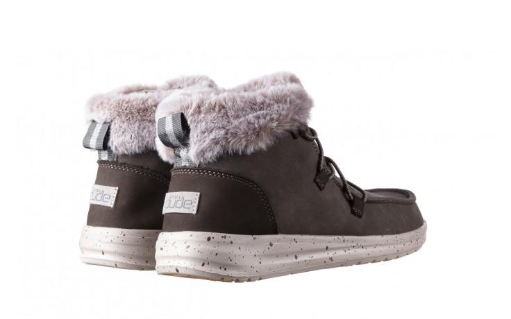 Śniegowce heydude eloise bruno 003194, zielony, skóra naturalna  - trendy - kobieta 3