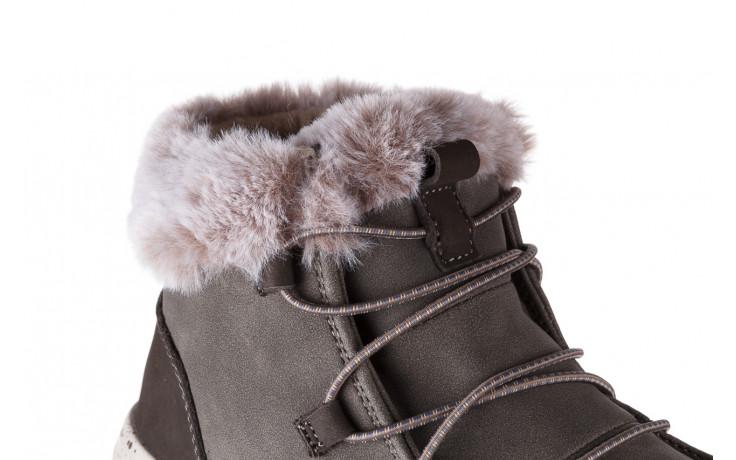 Śniegowce heydude eloise bruno 003194, zielony, skóra naturalna  - trendy - kobieta 6