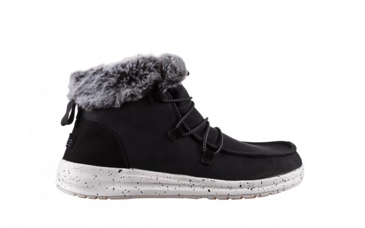 Śniegowce heydude eloise black 003193, czarny, skóra naturalna  - śniegowce - śniegowce i kalosze - buty damskie - kobieta