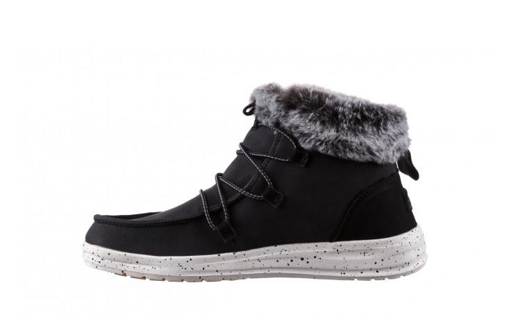 Śniegowce heydude eloise black 003193, czarny, skóra naturalna  - śniegowce - śniegowce i kalosze - buty damskie - kobieta 2