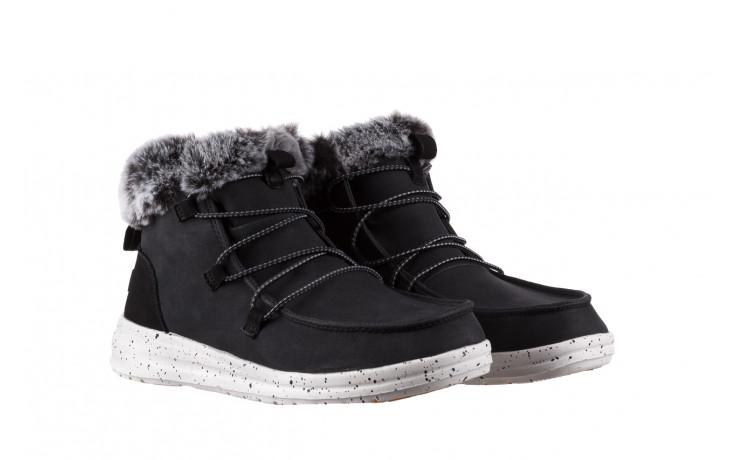 Śniegowce heydude eloise black 003193, czarny, skóra naturalna  - śniegowce - śniegowce i kalosze - buty damskie - kobieta 1